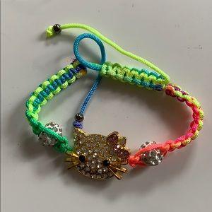 Other - New kitty macrame 🌈 bracelet